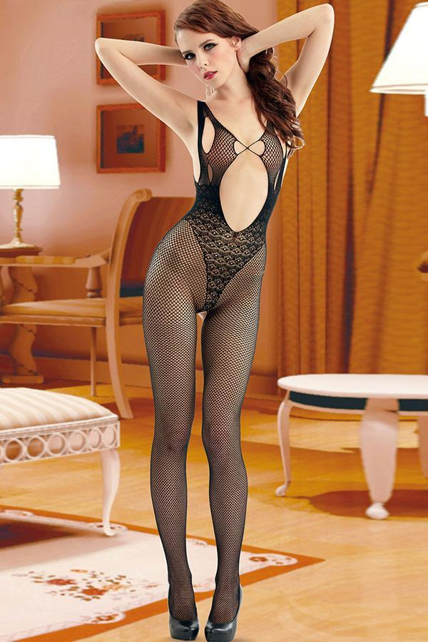 Seamless Keyhole Bodystocking