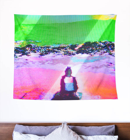 Digital Meditations [wall tapestry]