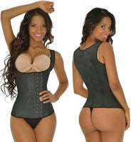 3 Row 2027 Chaleco Waist Training Corset Girdle Full Vest