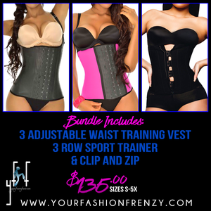 Get Waisted 3 Piece Waist Training Bundle