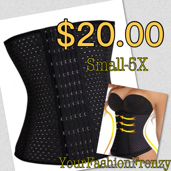 Non Latex 6 Row Multi Functional Black Waist Trimmer