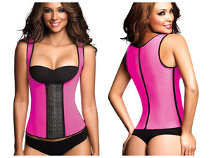 Ann Chery 2022 3 Row Chaleco Waist Training Corset Girdle Full Sport Vest
