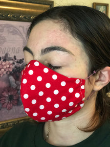 001 Handmade Protective Fashion Face mask - 100% Sterilized - includes replacable filter