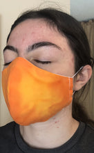 Load image into Gallery viewer, 022 Citrus Handmade Protective Fashion Face Mask- 100% Sterilized- includes replacable filter