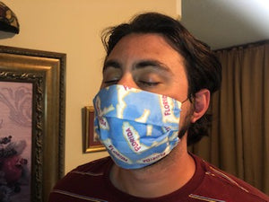 045 Florida (2PLY) Handmade Protective Fashion Face Mask- 100% Sterilized