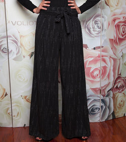 High waisted stripped trouser