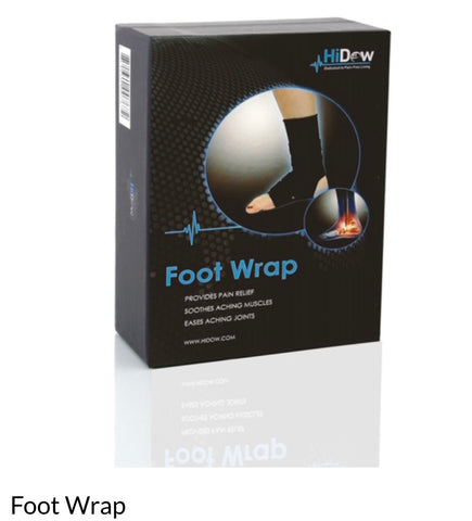 HiDow Foot Wrap Accessory for  Electrotherapy Pain Relief Device -  TrueStim BC Pain Relief Devices