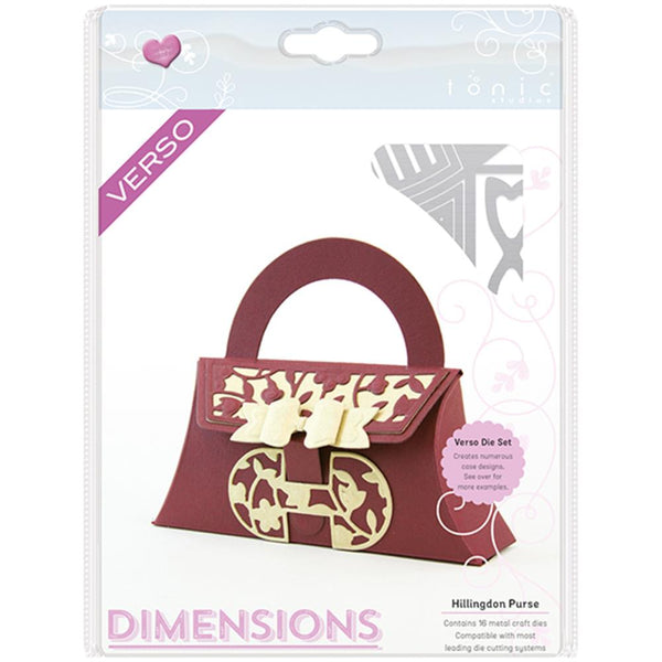 Tonic Studios Dimensions Dies Hillingdon Purse
