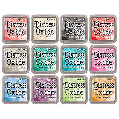Tim Holtz Distress Oxides Ink Pads 12 pads Set 2 - aplusstorenz