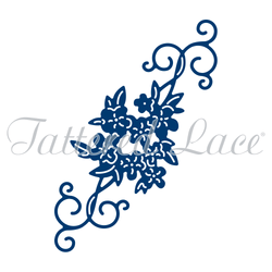 Tattered lace Ditsy Flower Flourish die