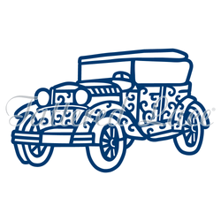 Tattered lace Vintage Car die