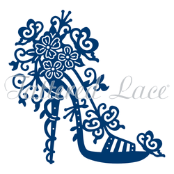 Tattered lace High Heel Charisma die