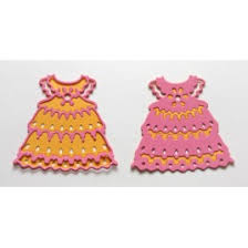 Crafty Ann - Dies - BD-53 Baby Girl's Dress