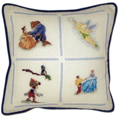 Disney Dreams Pillow Counted Cross Stitch Kit 14