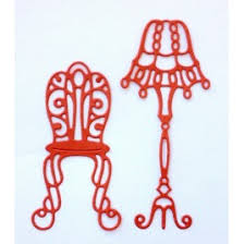 Crafty Ann - Dies - BD-81 Chair and Floor Lamp Set