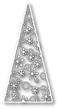 Memory Box Die Sparkling Tree Tile