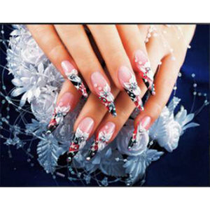 Broderie Diamant Ongles Mode Strass