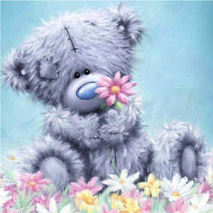 Broderie Diamant Enfant Ourson Teddy