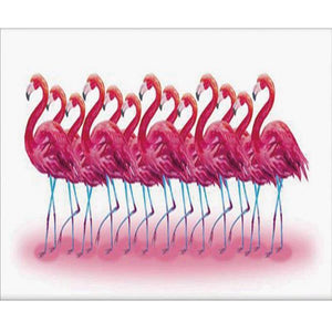 Broderie Diamant Flamand Rose 5D