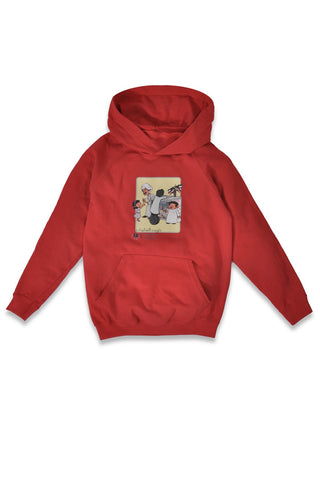 BARREEED KIDS SWEATSHIRT - RED