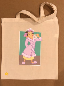 Mom Tote Bag (natural)