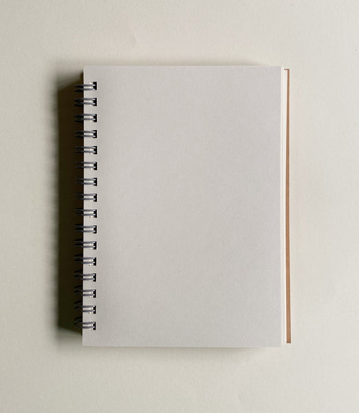Plain Beige Notebook - Ghanima