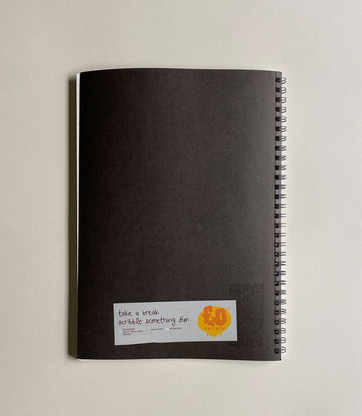 Lined Gray Notebook - Mairso