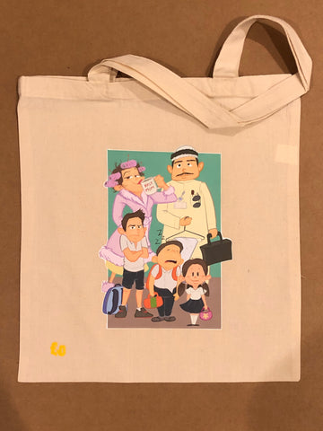 Family Tote Bag (natural)