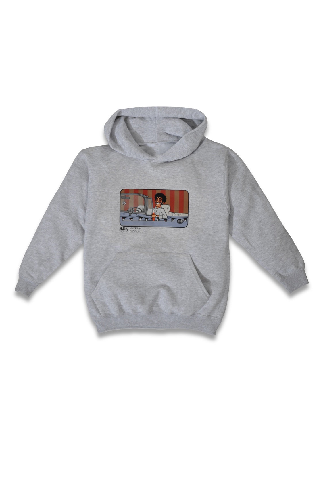 70'S MAN KIDS SWEATSHIRT - GRAY
