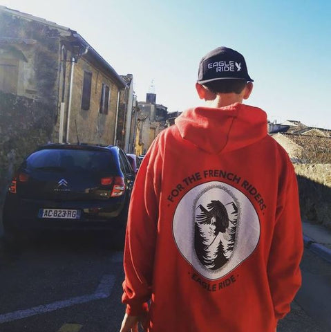 Hoodie french rider eagle ride @aymeric_pochon