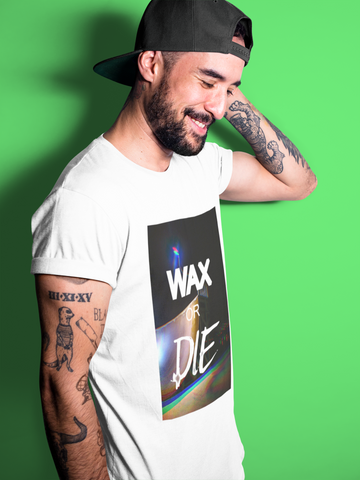 T-shirt homme coupe ajustée wax or die