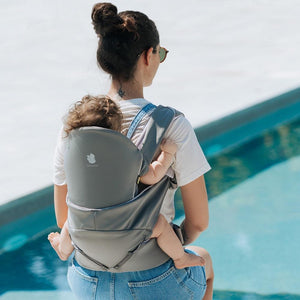 Cococho Baby Carrier - infant to toddler back carry Grey