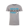 Adults Skate Too Unisex Tee - Grey