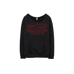 Skater Things Eco Fleece Sweatshirt