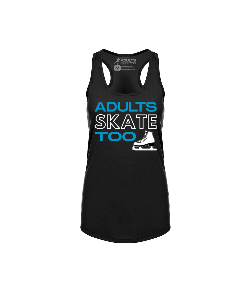 Adults Skate Too Women's Racerback Tank