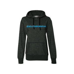 Hashtag Women's French Terry Glitter Hoodie