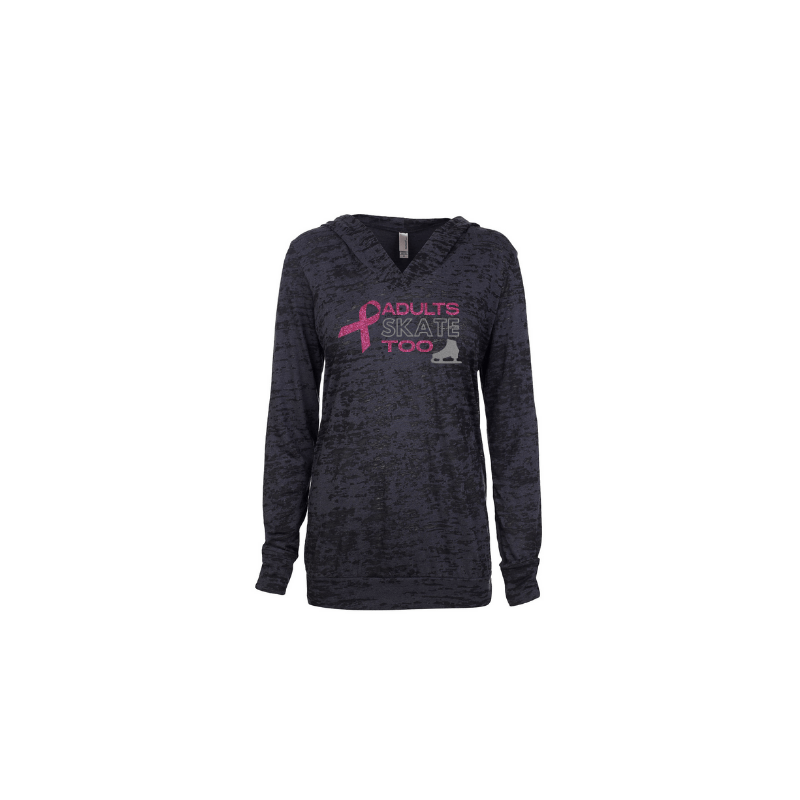 AST Pink Ribbon Women's Burnout Hoodie - Limited Edition 2020
