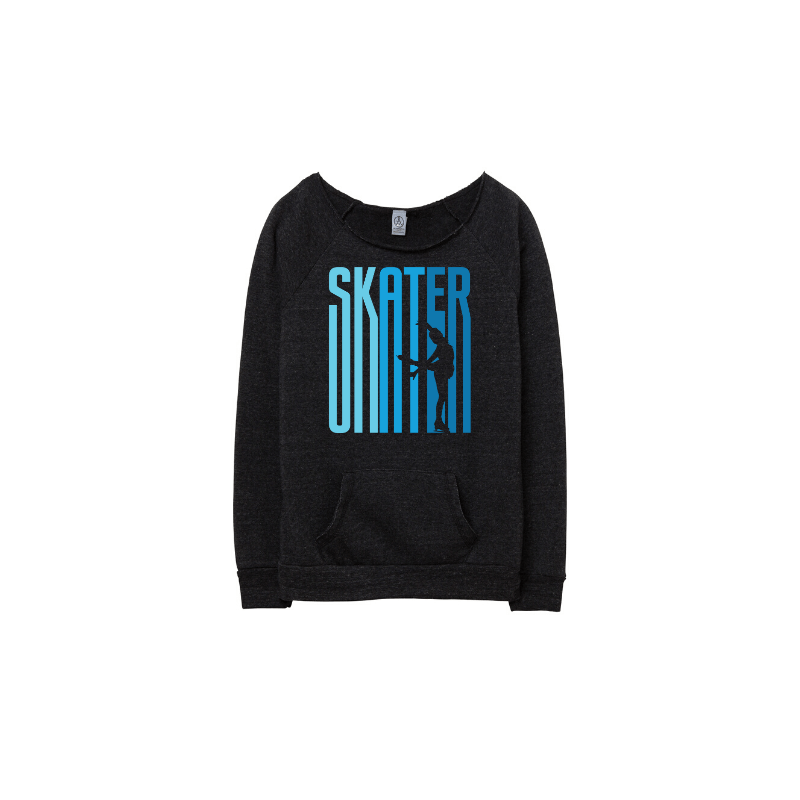 Ombre Skater Eco Fleece Sweatshirt