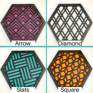 Design Your Own Trivets Black