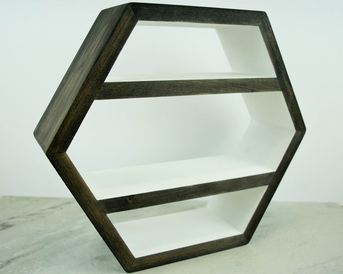 Hexagon Shelf add-on, Add an interior shelf to any shelf order form our shop