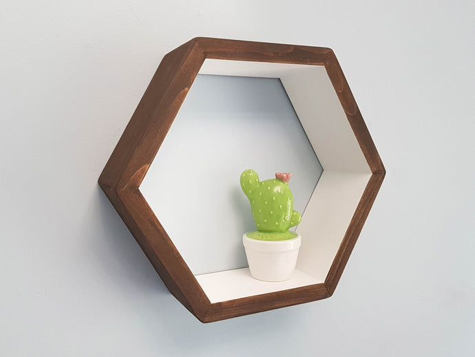 Hexagon Shelf Single 12