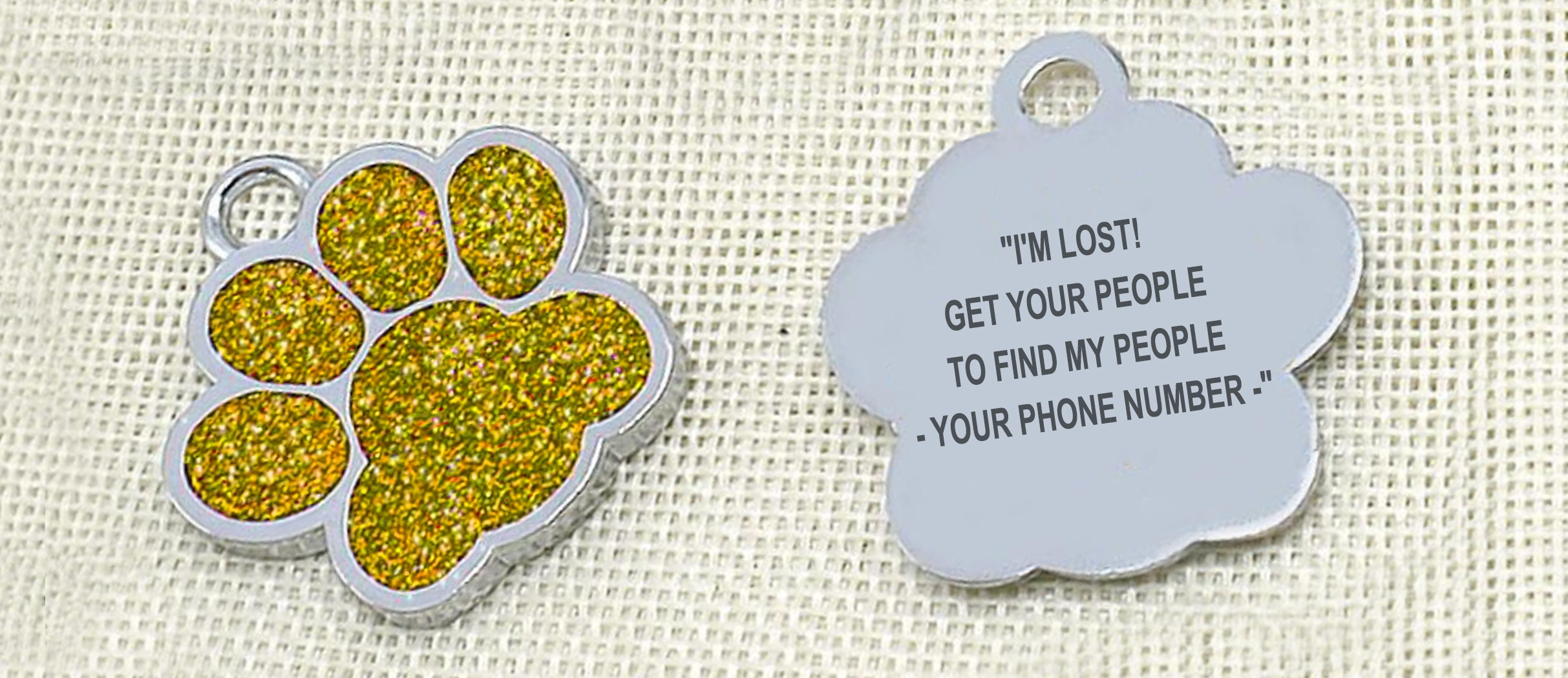 Weinflux - Personalized Dog Tags