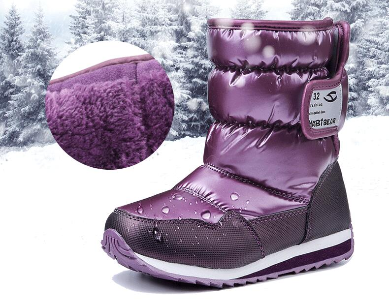 Weinflux 2019 New Design Kids Girls Boys Anti-slip Waterproof Boots