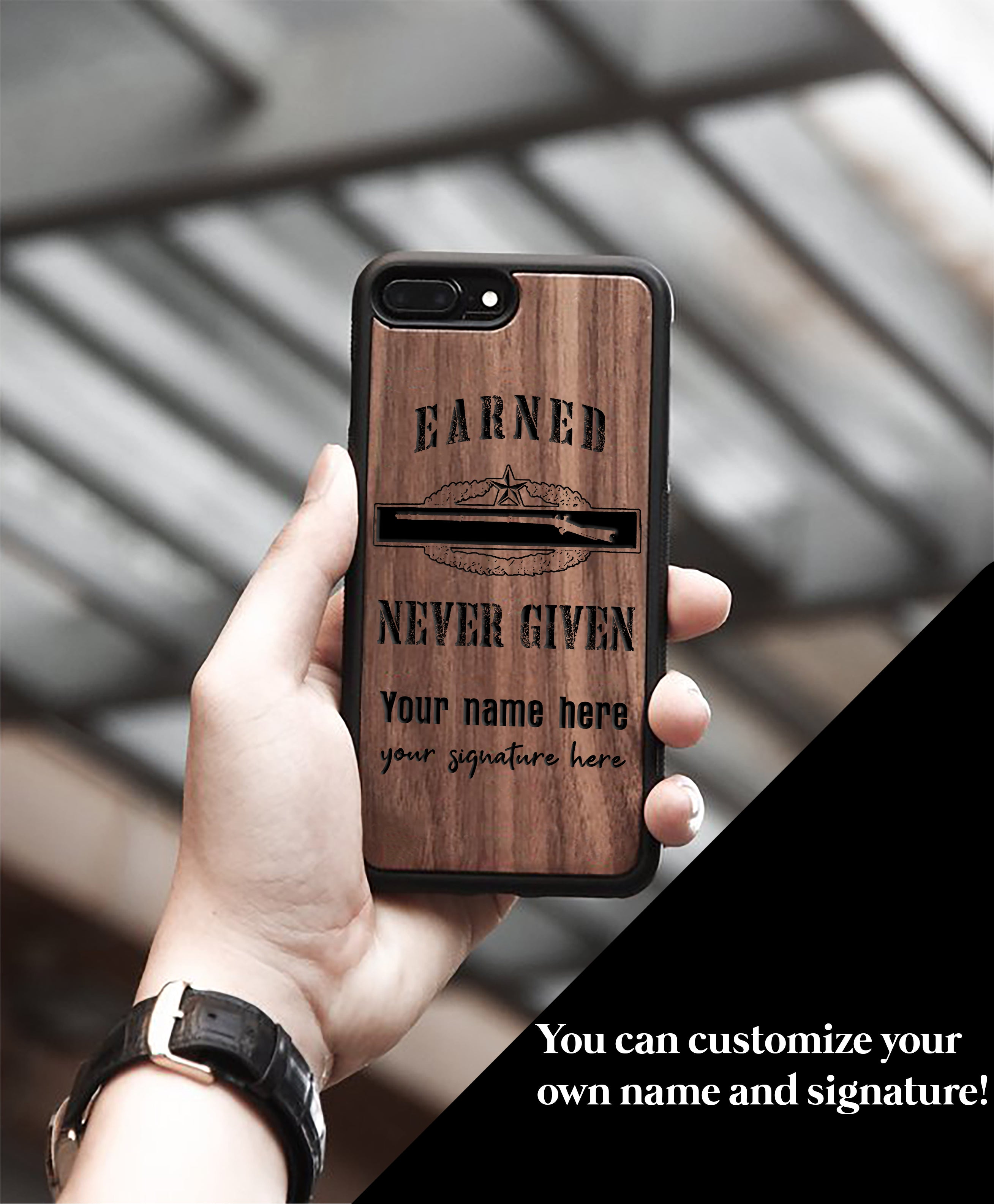 WeinFlux - Earned, Never Given Phone Case