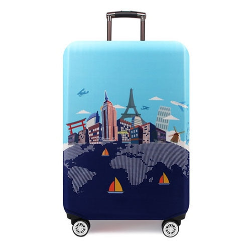 Thicker Travel Luggage Protective Cover Suitcase Case Travel Accessorie