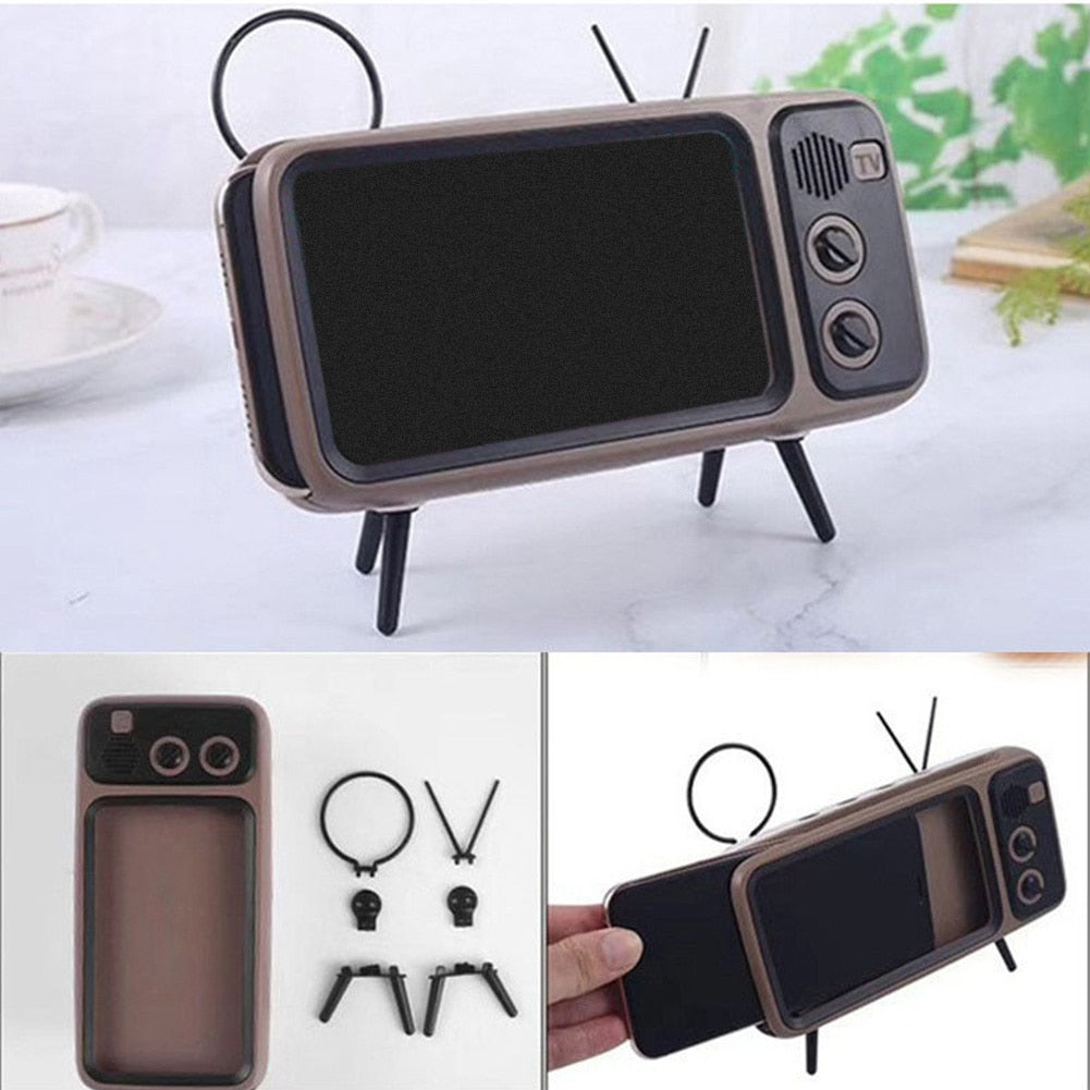 Stereo Bracket Movies Mobile Phone