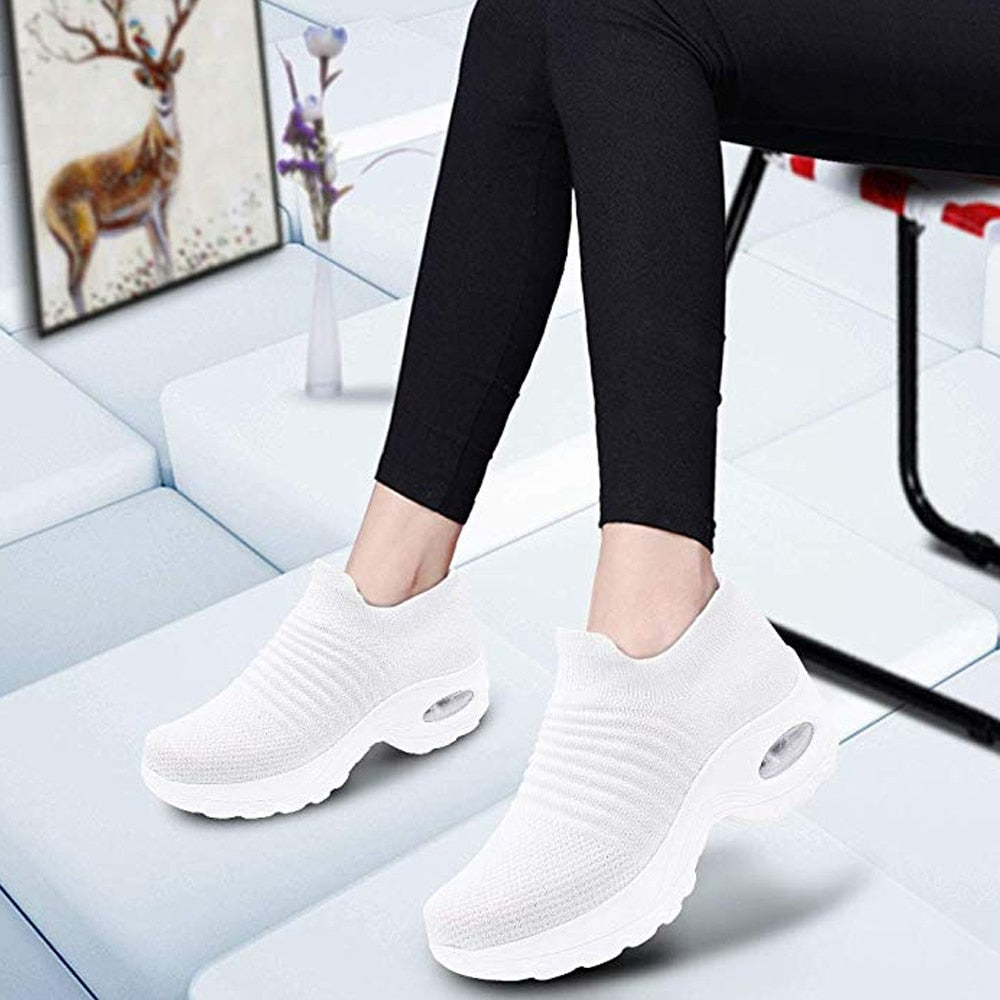 Women Sneakers Fashion Breathable Mesh [50% OFF TODAY]