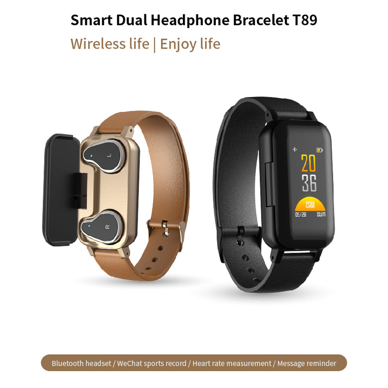 Weinflux - Smart Watch Bluetooth Earphone