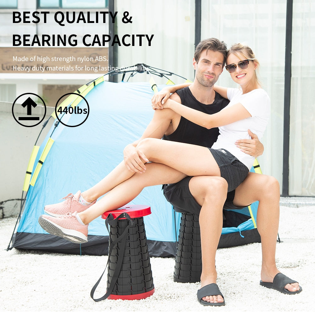 Portable Folding Stool - Hot Sale Today 50% DISCOUNT! WW