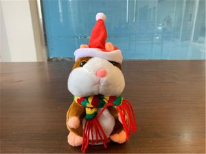 Weinflux Talking Christmas Hamster